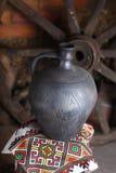 Jarro hecho en casa tradicional Fotografía de archivo libre de regalías
