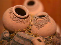 Jarros arménios diminutos Imagem de Stock