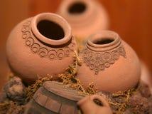 Jarros armenios miniatura Imagen de archivo