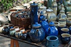 Jarros y jarras Foto de archivo libre de regalías