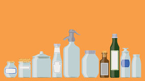 Jars and bottles Royalty Free Stock Image