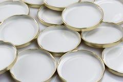 Jars cap Royalty Free Stock Photos