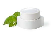 Jars of cream Royalty Free Stock Image
