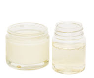 Jars with cream and lotion Royalty Free Stock Photos