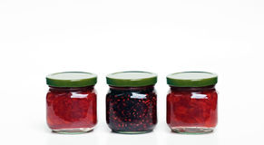 Jars of Jam Royalty Free Stock Photos