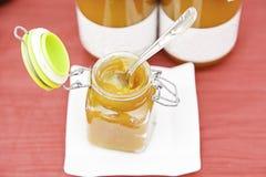 Jars with jam Royalty Free Stock Photo