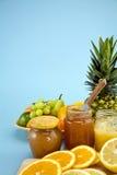 Jars of Marmalade Stock Photos
