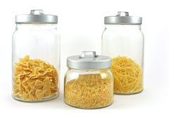 jars pastas 3 Стоковые Изображения