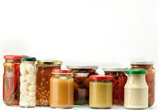 Preserved food Royalty Free Stock Image