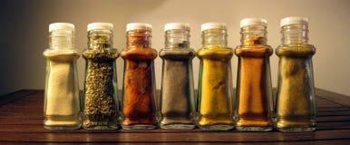 Jars spices Stock Photos