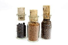 Jars of spices Stock Photography