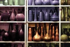 Jars and vases Royalty Free Stock Photos