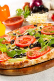 Jarska pizza obrazy royalty free