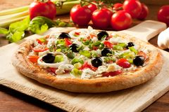 Jarska pizza fotografia royalty free