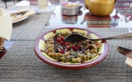 Jarska przekąska Arabska Orientalna kuchnia obrazy royalty free