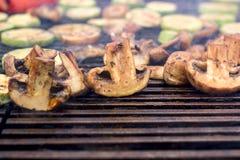 Jarski jedzenie, piec na grillu warzywa Fotografia Stock