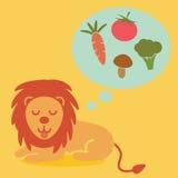 Jarski lew ilustracji