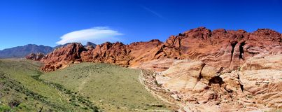 jaru czerwieni skała Zdjęcie Stock