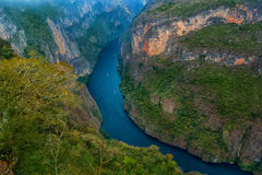 Jaru Del Sumidero park narodowy zdjęcia stock
