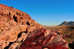 jaru Nevada czerwieni skała Obraz Stock