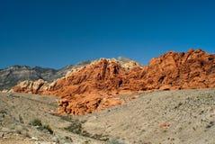 jaru Nevada czerwieni skała Obrazy Stock