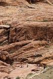 jaru Nevada czerwieni skała Obrazy Royalty Free