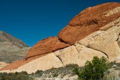 jaru Nevada czerwieni skała Zdjęcia Stock