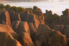 jaru nowa blinu skała Zealand Fotografia Royalty Free