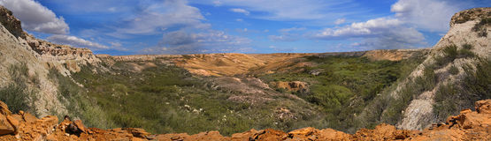 jaru plateau skłony Ustyurt Fotografia Stock