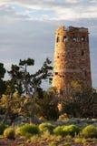 jaru pustynna uroczysta widok wieża obserwacyjna Zdjęcia Stock
