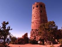 jaru pustynna uroczysta widok wieża obserwacyjna Obraz Royalty Free