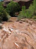 jaru rzeki płycizna fotografia stock