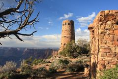 jaru widok pustynny uroczysty krajobrazowy Zdjęcie Stock