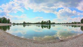 Jarun sjö i vårtid, Zagreb