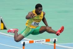 Jarvan Gallimore de Jamaica foto de stock royalty free