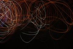 Jarzeniowa energii fala oświetleniowego skutka tła abstrakcjonistyczny obrazek Obraz Stock