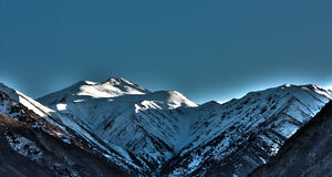 jarzeniowe góry Obraz Royalty Free