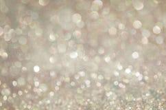 Jarzeniowy błyskotliwości tło Elegancki abstrakcjonistyczny tło z bokeh Fotografia Royalty Free