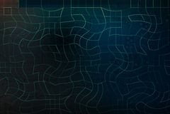 jarzeniowy lekki banka teren dla teksta na abstrakcjonistycznych błękitnych i ciemnozielonych di Obraz Stock