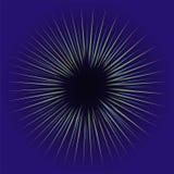 Jarzeniowy lekki skutek Gwiazdowa wybuchu wektoru ilustracja Fotografia Stock