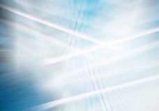 Jarzyć się wykłada w błękitnym abstrakcjonistycznym tle Zdjęcia Royalty Free