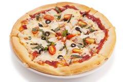 Jarzynowa pizza Obraz Stock