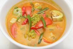 Jarzynowy curry'ego Asia jedzenie Zdjęcia Royalty Free