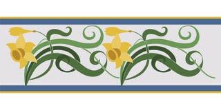 Jarzynowy ornament, nowożytny styl Obraz Royalty Free