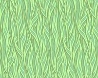 Jarzynowy zielarski tło zielony kolor kręceni zwrotniki ilustracji