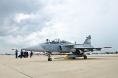 JAS 39 Gripen Imagens de Stock Royalty Free