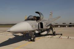 绅宝JAS 39 Gripen 免版税库存照片