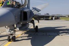 绅宝JAS 39 Gripen 免版税库存图片