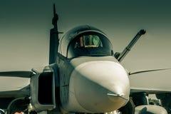 Free JAS39 Gripen Stock Photography - 46312602