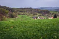 Jasenna en República Checa Imagen de archivo